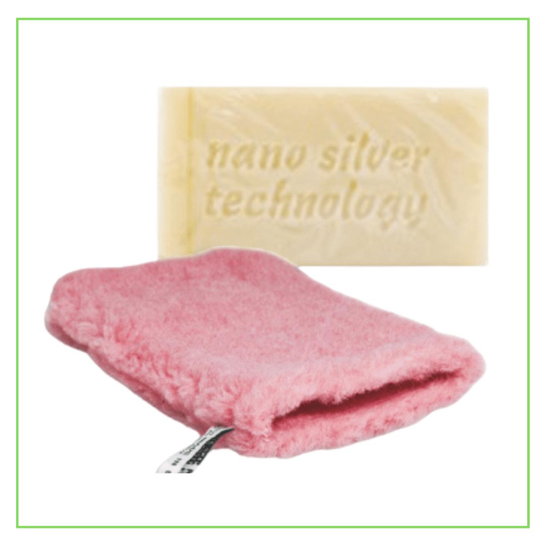 Raypath nano silver rinkinys su natūraliu muilu ir ROŽINE